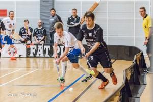 Joonas Sjöblom oli pirteällä pelipäällä TU:ta vastaan tehoin 2+1. Kuva: Jussi Niukkala