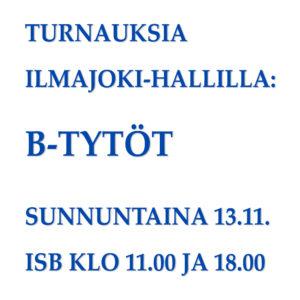 B-tytöt 13.11